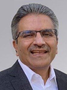 CEO Dhrupad  Trivedi at A10 Networks  Portrait