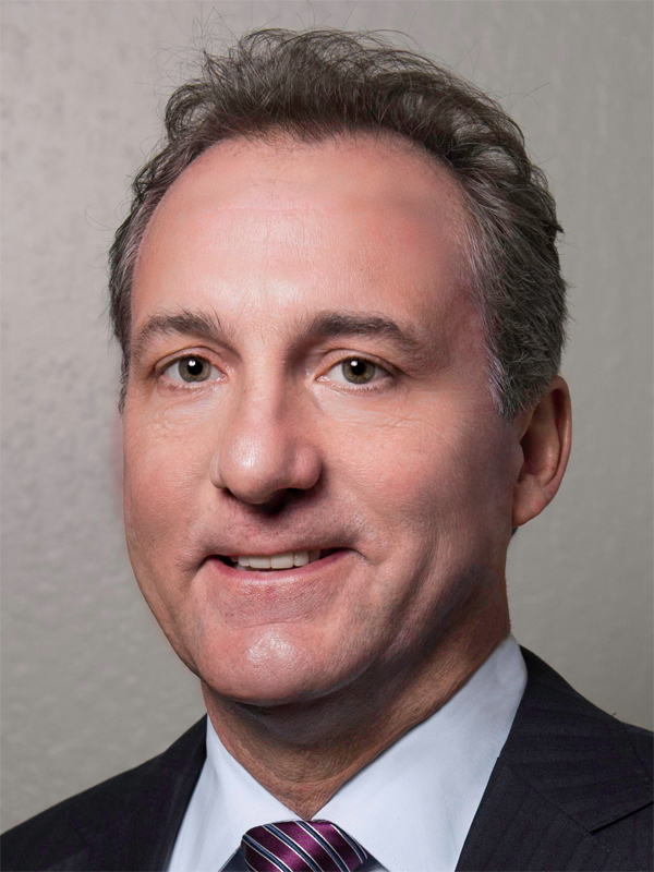 CFO Andrew  Del Matto at Fortinet  Portrait